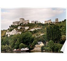 Chateau Galliard by Richard the Lionhearted Poster