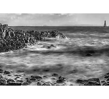 Volcanic Seascape Photographic Print