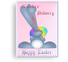 Easter Delivery  Canvas Print