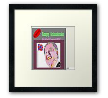 Limpsy Grahamcracker Framed Print