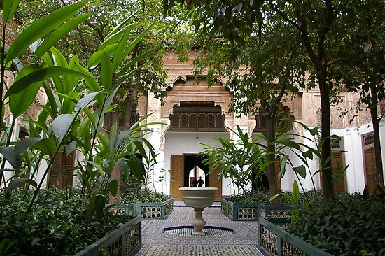 Lovers Garden - Marrakech, Morocco by Rebecca Silverman