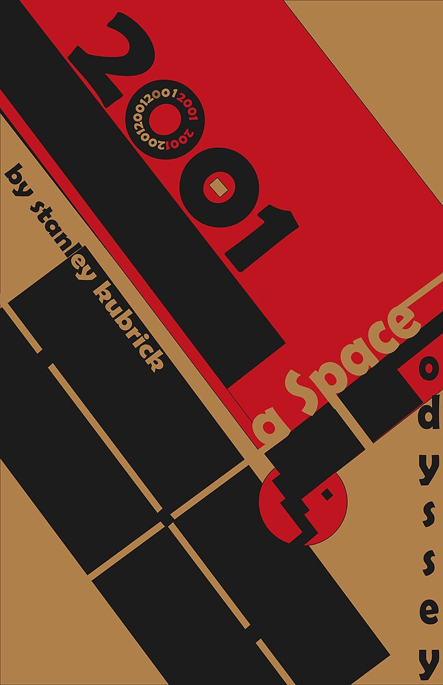 Bauhaus Poster  by Christina Rodriguez