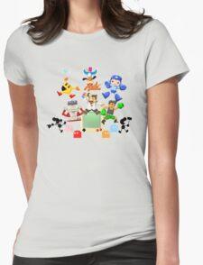 Retro World Womens Fitted T-Shirt