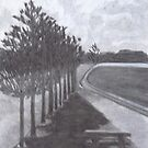 Pine Trees, Altona by Joan Wild