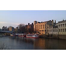 River Ouse, York Photographic Print