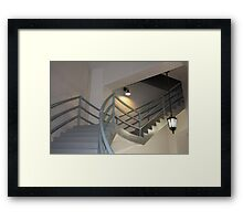 Stairway To The Top Framed Print
