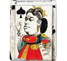 André Gill Marie Sass as Elisabeth in Don Carlos cartoon Gallica15 iPad Case/Skin