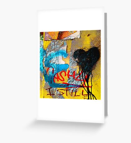 Graffiti #32 Greeting Card