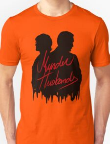 Murder Husbands [Black/Red] Unisex T-Shirt