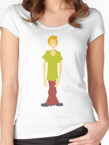Shaggy Rogers Women's Fitted Scoop T-Shirt