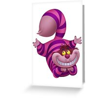 Cheshire the cheeky cat Greeting Card