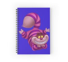 Cheshire the cheeky cat Spiral Notebook