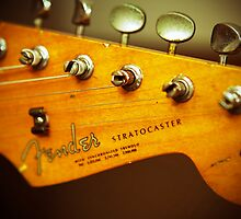 Stratocaster Head by Brian Dugay