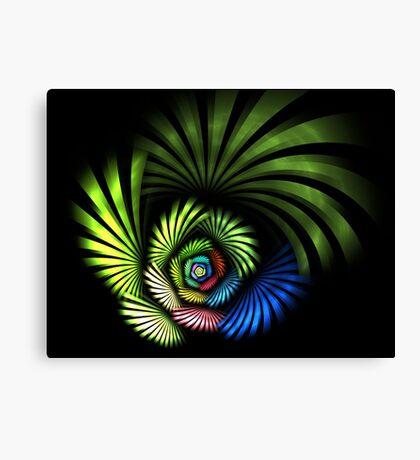 Blades Of Color Canvas Print