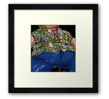 """""""Big Daddy"""" Framed Print"""