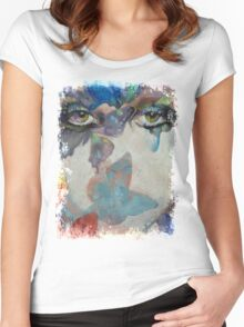 Gothic Butterflies Women's Fitted Scoop T-Shirt