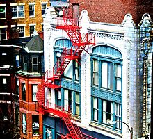 Fire Escape by wilkor