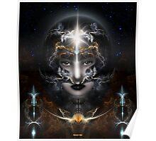 Goddess Of The Black Moon Poster
