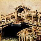 Rialto Briidge - Venice 1968 by pennyswork