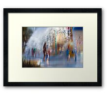 Water works #12 Framed Print