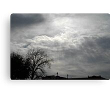 Aftenoon Clouds Canvas Print
