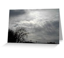 Aftenoon Clouds Greeting Card