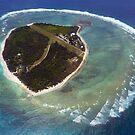 Approaching Lady Elliot Island by Jaxybelle