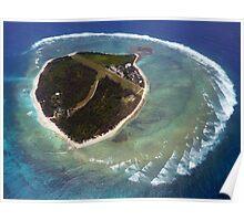 Approaching Lady Elliot Island Poster