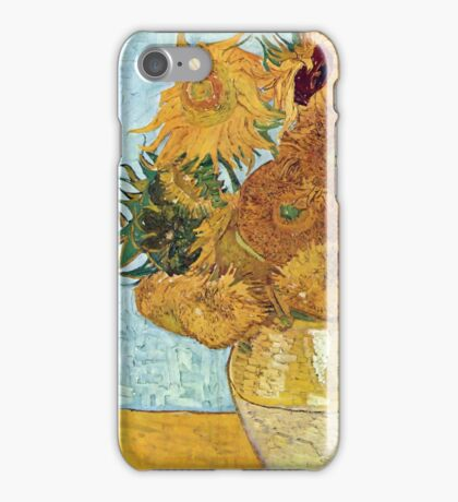 Vincent Willem Sunflowers Iphone Case iPhone Case/Skin