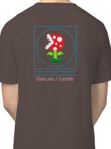 mario: piranha plant is delicate and gentle Classic T-Shirt