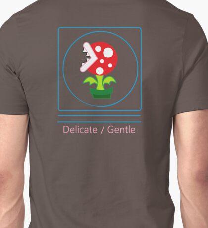 mario: piranha plant is delicate and gentle Unisex T-Shirt