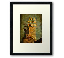 Autumn in Mill City Framed Print