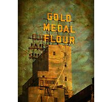 Autumn in Mill City Photographic Print