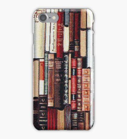 Vintage Bookshelf Iphone Case iPhone Case/Skin