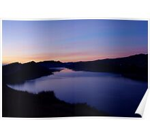 Horse Tooth Reservoir Sunrise Poster