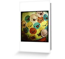 Gumballs with attitude! Greeting Card