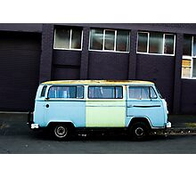 Old Van in a Backstreet Photographic Print