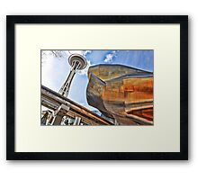 Seattle's CRazY Creations Framed Print