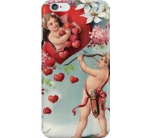 Vintage Red Hart Painting Iphone Case iPhone Case/Skin