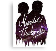 Murder Husbands [Galaxy] Canvas Print