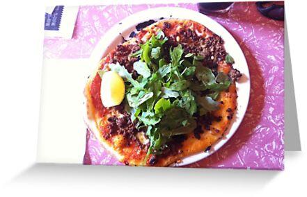Pizza Agnello by Team Bimbo