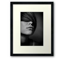 take a breath again Framed Print