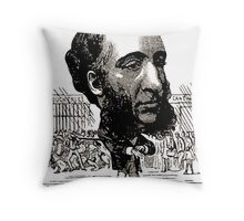 Georges Lafosse Jules Ferry Throw Pillow