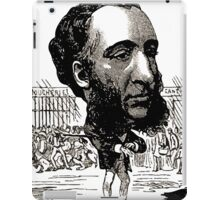 Georges Lafosse Jules Ferry iPad Case/Skin