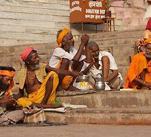 Varanasi Steps by BradBaker
