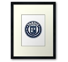 Tardis Coffee Framed Print