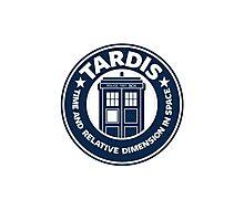 Tardis Coffee Photographic Print