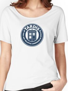 Tardis Coffee Women's Relaxed Fit T-Shirt