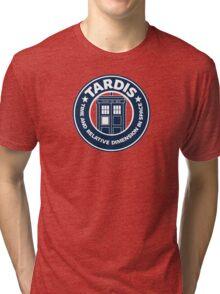 Tardis Coffee Tri-blend T-Shirt