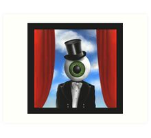 Eye Guy Art Print